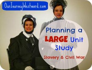 Planning a Large Unit Study