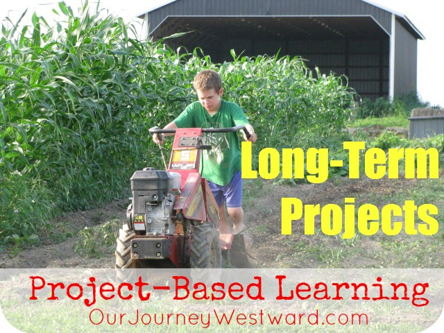 Project-Based Learning: Long Term Projects
