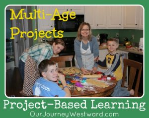Project-Based Learning with Multi-Ages (Differentiation) @CindyWest (Our Journey Westward)
