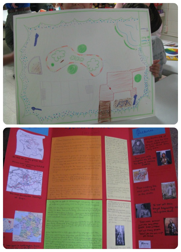 Project-Based Learning with Posters @Cindy West (Our Journey Westward)