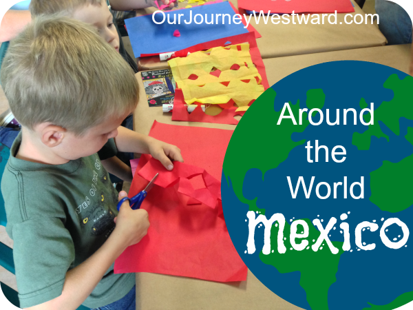 A stop in Mexico on a trip around the world in 1st grade