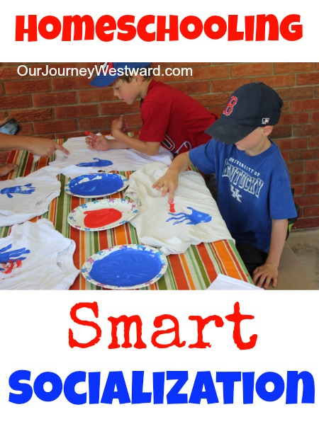What about socialization?  | Our Journey Westward