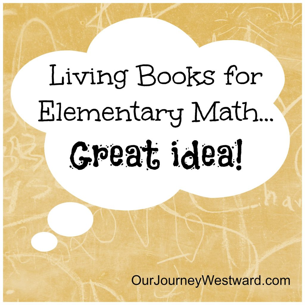 The math and literature connection is important in elementary grades.