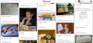 China unit study Pinterest page from Our Journey Westward