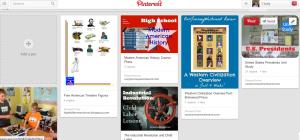 Cindy's Modern American History Pinterest Board