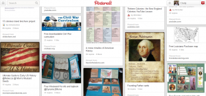 Cindy's Early American History Pinterest Board