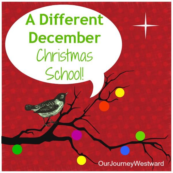 Ideas for creative homeschooling in December. #Christmas #homeschooling