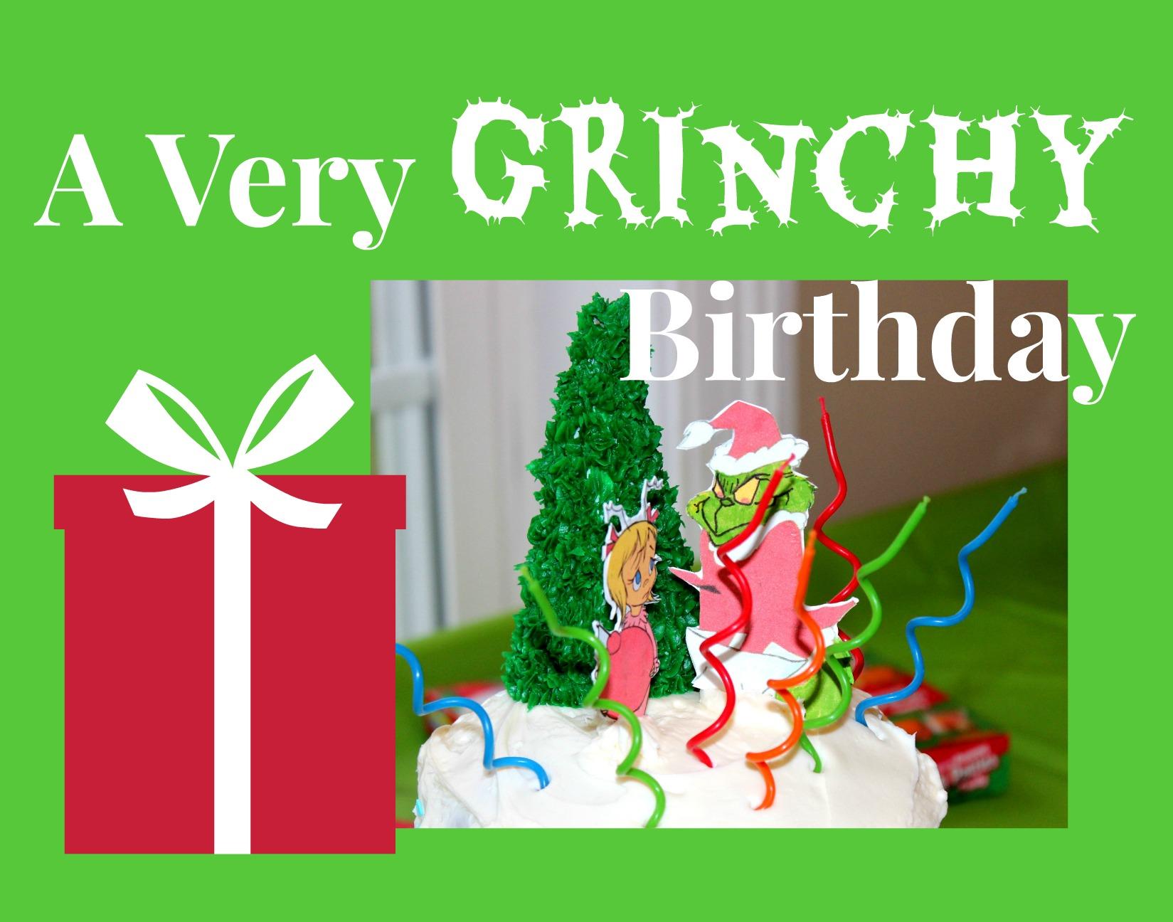 A Grinch Birthday Party