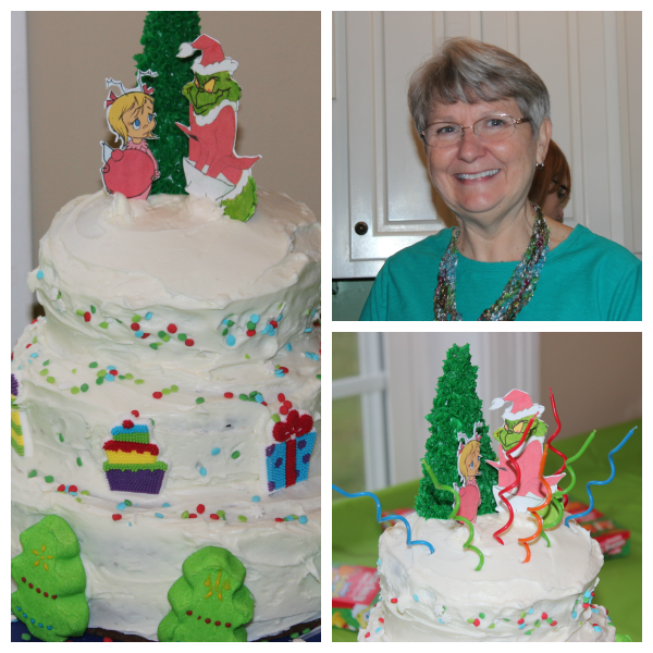 Grinch Party Cake