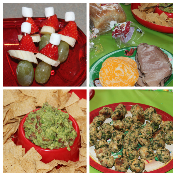 Grinch Party Food