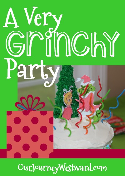 These Grinch ideas would make for a great party or just a family book/movie night