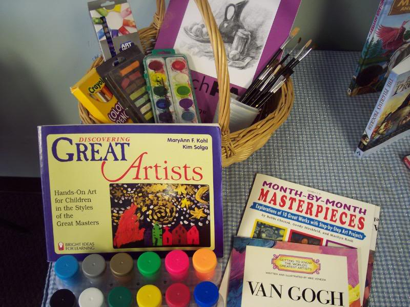 Painless artist study: a learning center idea