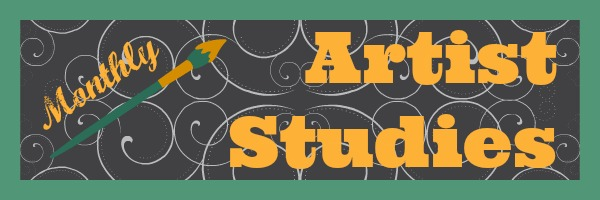 A huge list of lesson ideas and resources for monthly artist study!