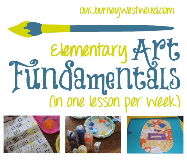 Art Fundamentals in One Lesson a Week