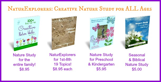 Nature Study has never been easier with the creative line of NaturExplorers products from Shining Dawn Books!