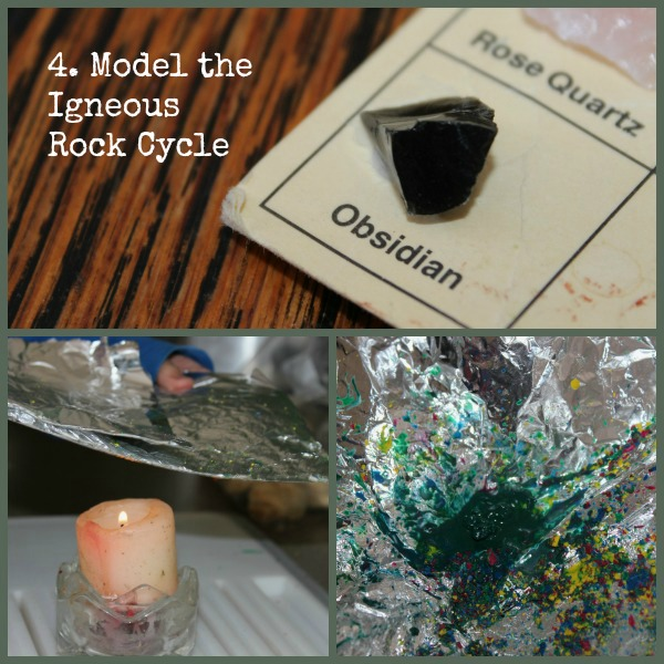 Hands-On Rock Cycle: Crayons & Cookies - Our Journey Westward