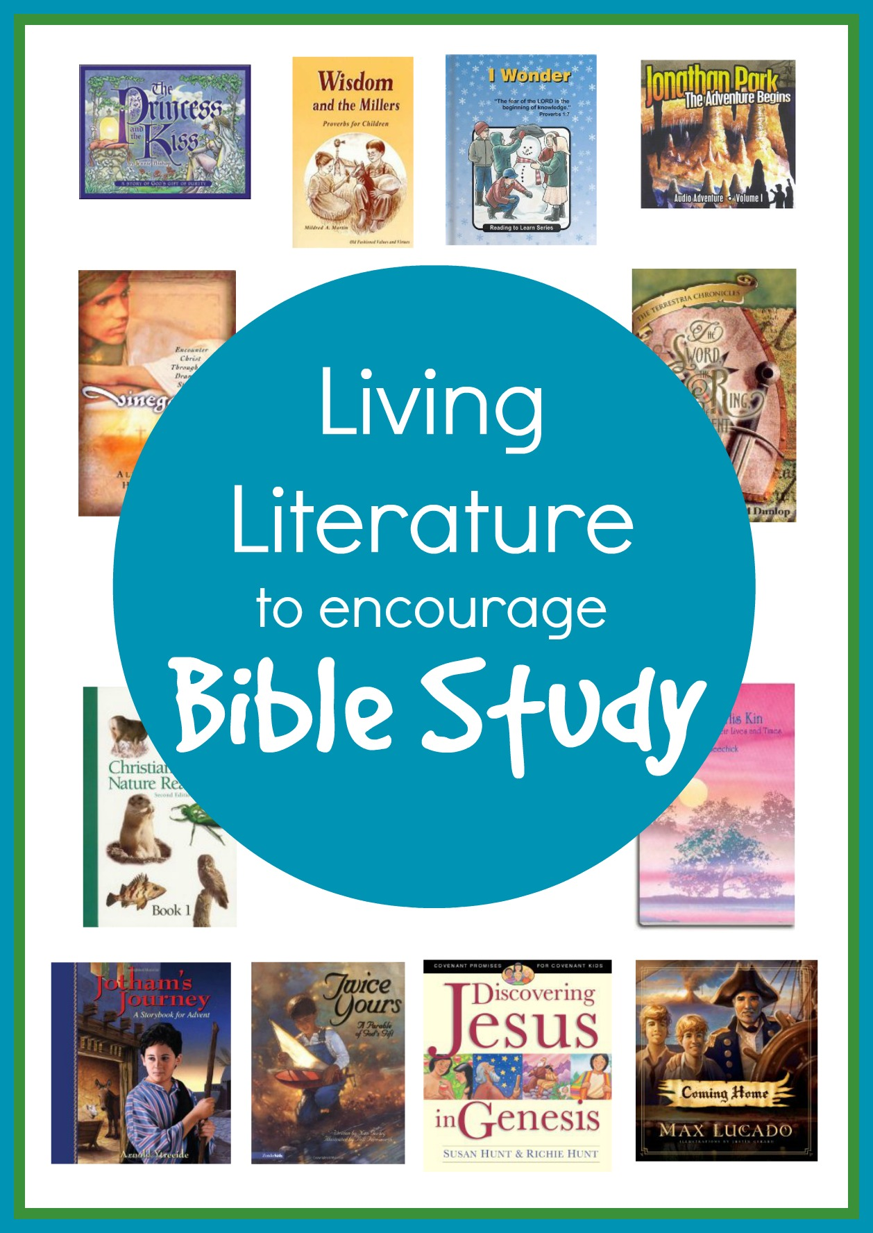 Living Literature To Encourage Bible Study