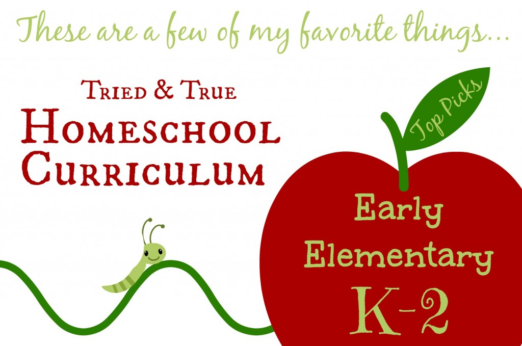 Veteran homeschooler Cindy West shares her favorite early elementary homeschool curriculum choices.