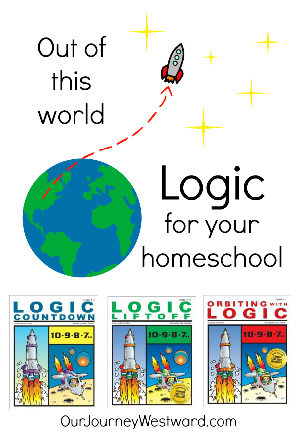 These homeschool logic books are great for 3rd-7th graders!