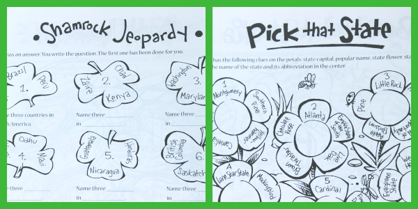 Love this activity book for seasonal geography research projects!