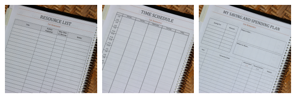 A Plan in Place Homeschool Student Planner