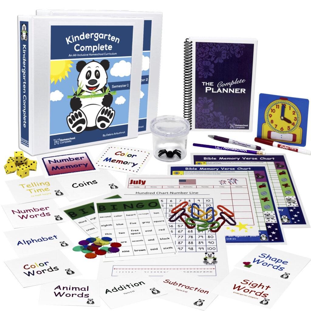 Kindergarten Complete Homeschool Curriculum