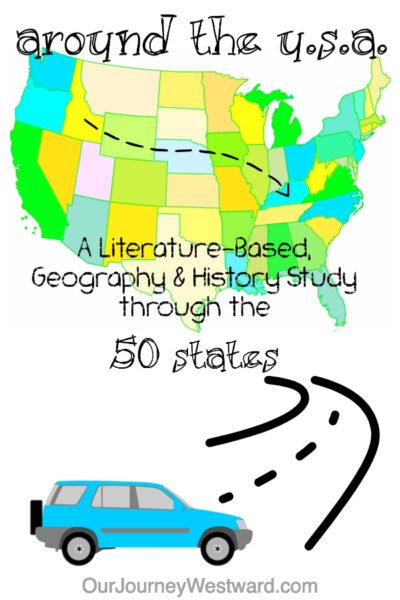 Take a trip around the USA through literature!