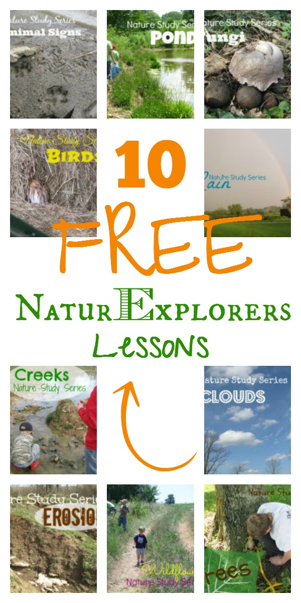 10 FREE Nature Study Lessons from NaturExplorers