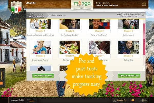 Mango Languages makes teaching foreign languages in the homeschool easy!