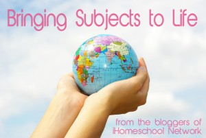 IHomeschool Network's Bringing Homeschool Subjects to Life Link-Up