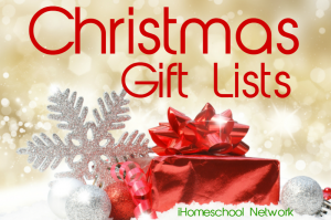 Christmas gift lists from the bloggers of iHomeschool Network