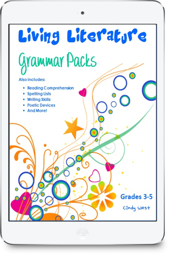 Living Literature Grammar Packs