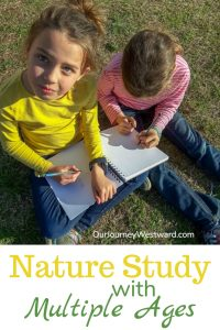 Yes, You CAN Do Nature Studies with Multiple Ages!