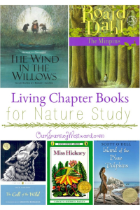 Living Chapter Books for Nature Study #livingbooks #naturestudy