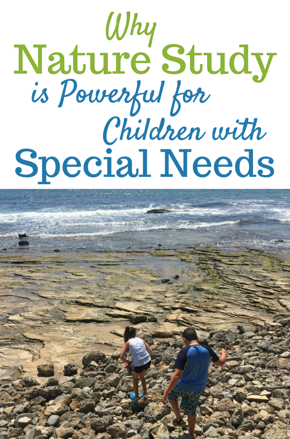 Special Needs and Nature Study. You might be amazed at the benefits of nature study with children who have special needs.