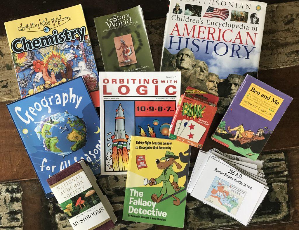 6th grade curriculum from a Charlotte Mason inspired homeschool