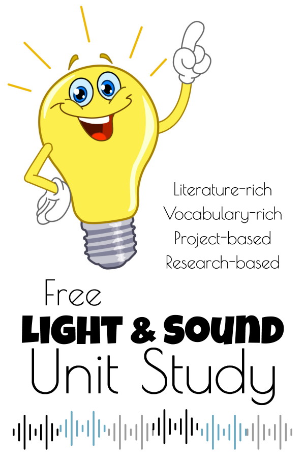 Download this free sound and light unit study for upper elementary and middle school students!