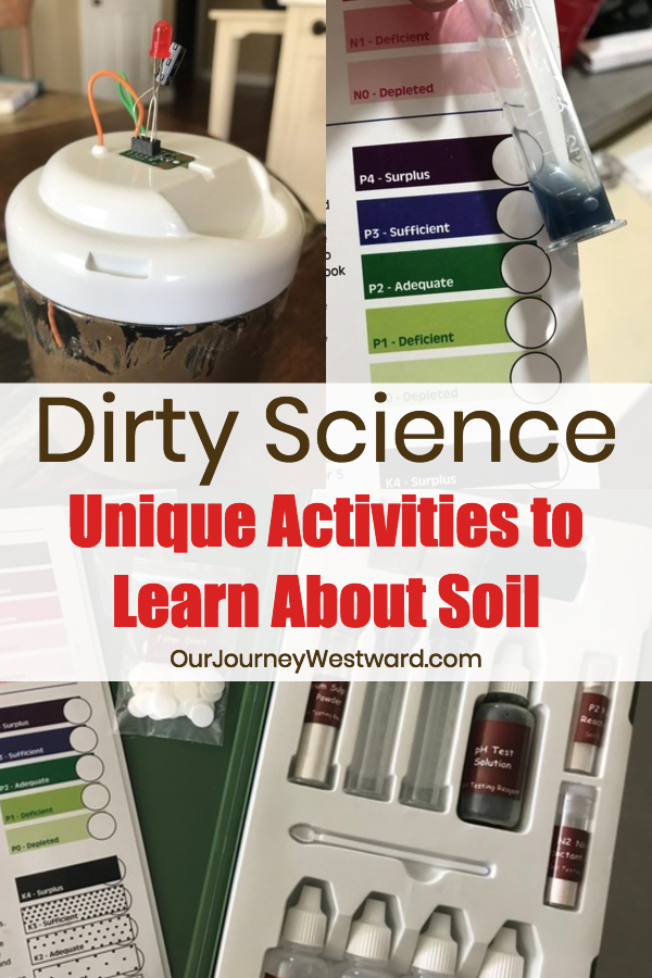 Learn about soil with exciting experiments! #homeschool #science #homesciencetools #naturestudy #chemistry