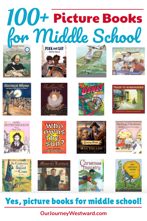 100 of the Best Picture Books for Middle School