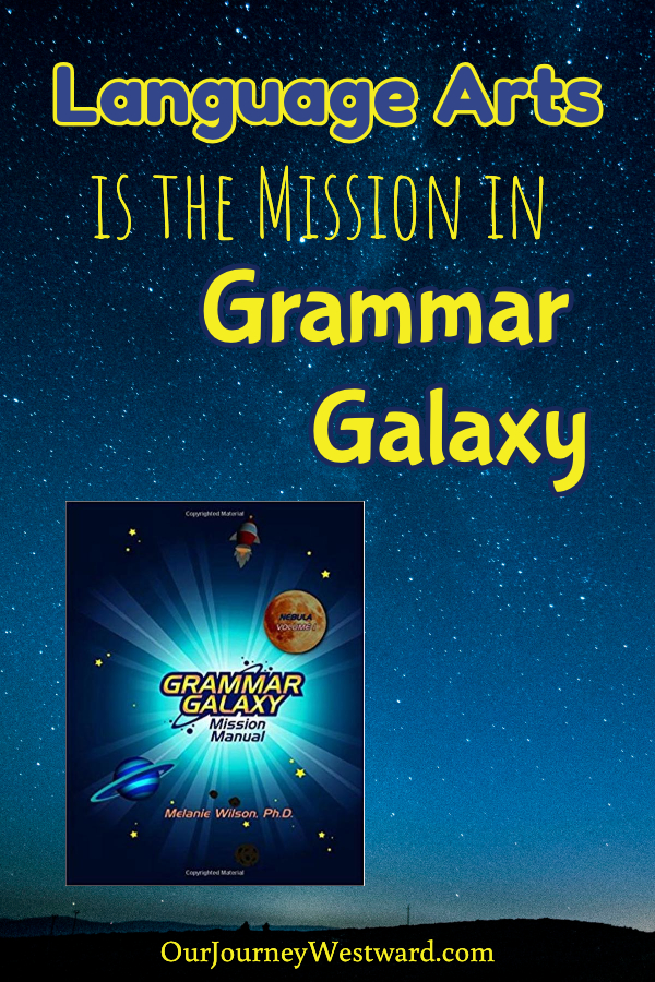 Language Arts is the Mission in Grammar Galaxy