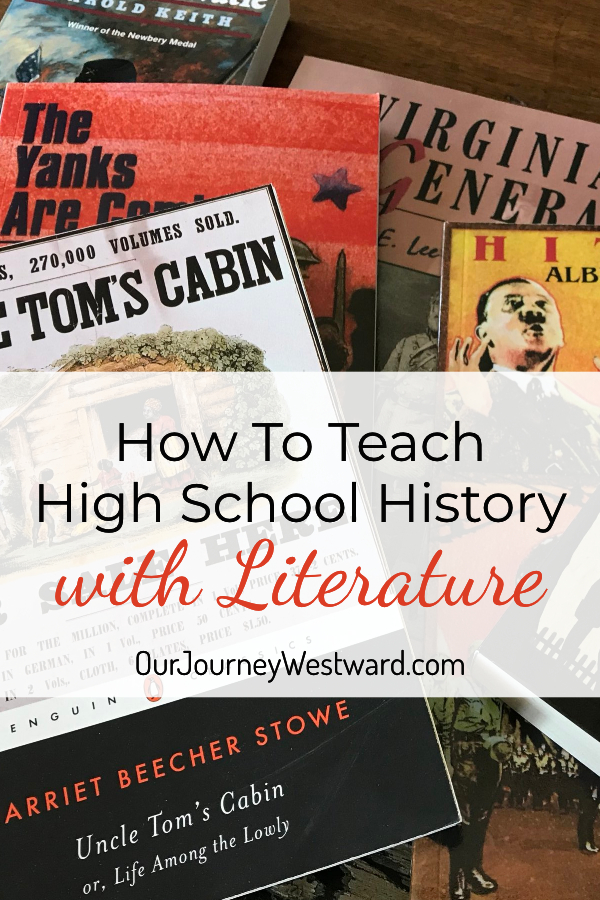 How To Teach High School History with Literature Easily