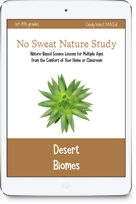If you can't get to the desert for nature study, let the desert come to you! This creative, multi-age science curriculum is perfect for homes or classrooms!