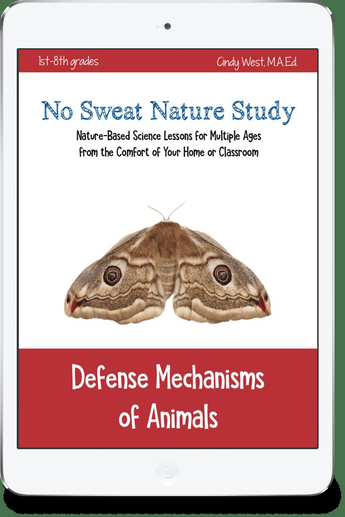 Defense Mechanisms Of Animals No Sweat Nature Study Curriculum