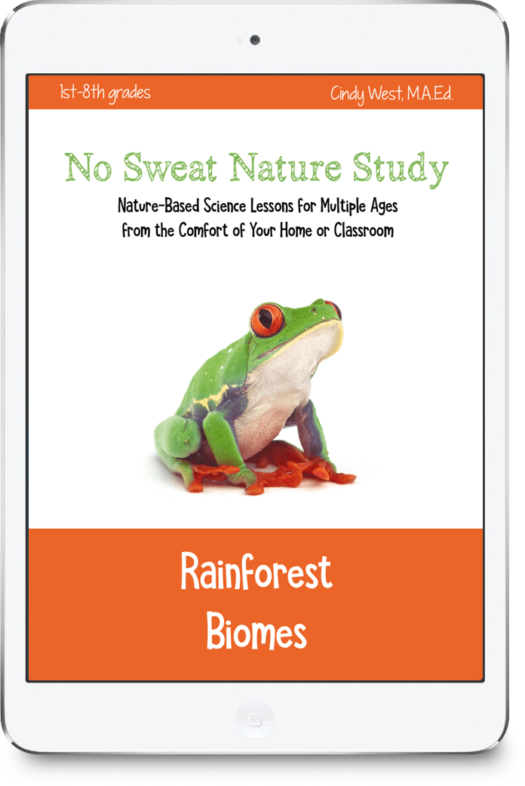 This unique curriculum about rainforest biomes includes a variety of media to learn science through nature study.
