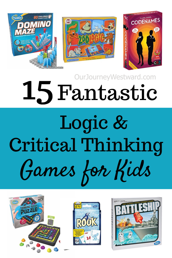 15 Fantastic Logic and Critical Thinking Games