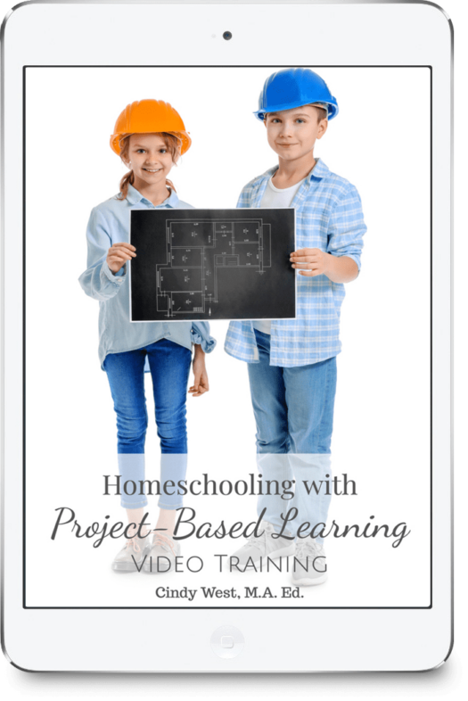 Homeschool project-based learning is a great way to build interest in learning while also encouraging independence and working with learning styles. It's great to use with multiple ages and promotes an incredible amount of academic skills.