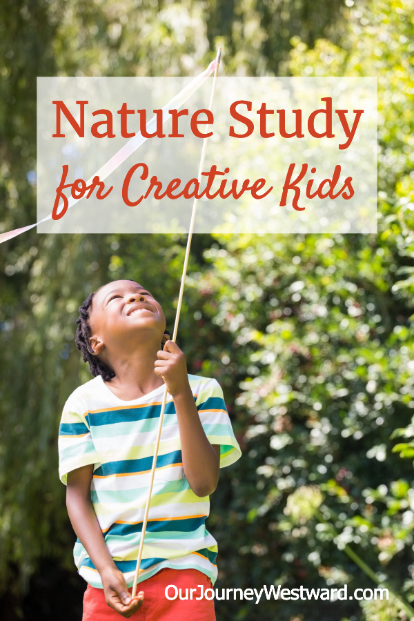 Science and creativity don't seem to go together, but they can when you use nature study for creative kids!