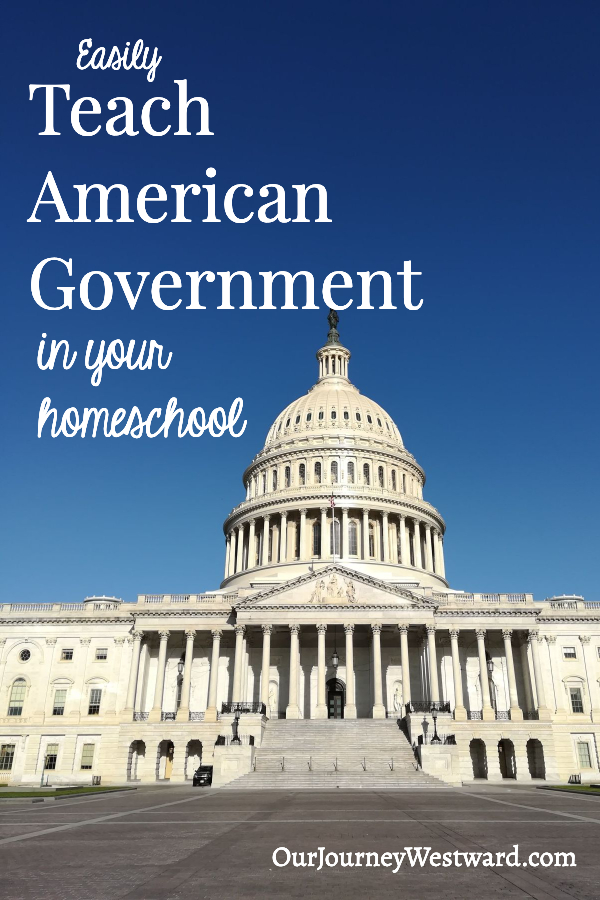 Easily Teach American Government in Your Homeschool