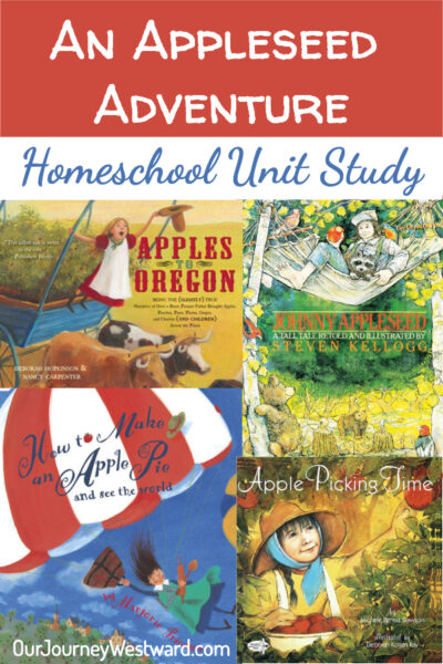 Enjoy a literature based apple unit study to learn science, history, and math.