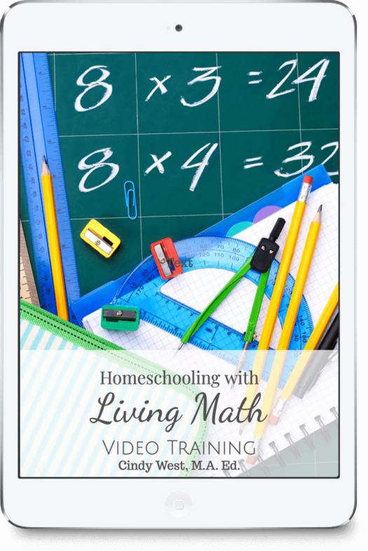 What is living math and how can you easily add it to your homeschool schedule? Let Cindy help you figure that out!